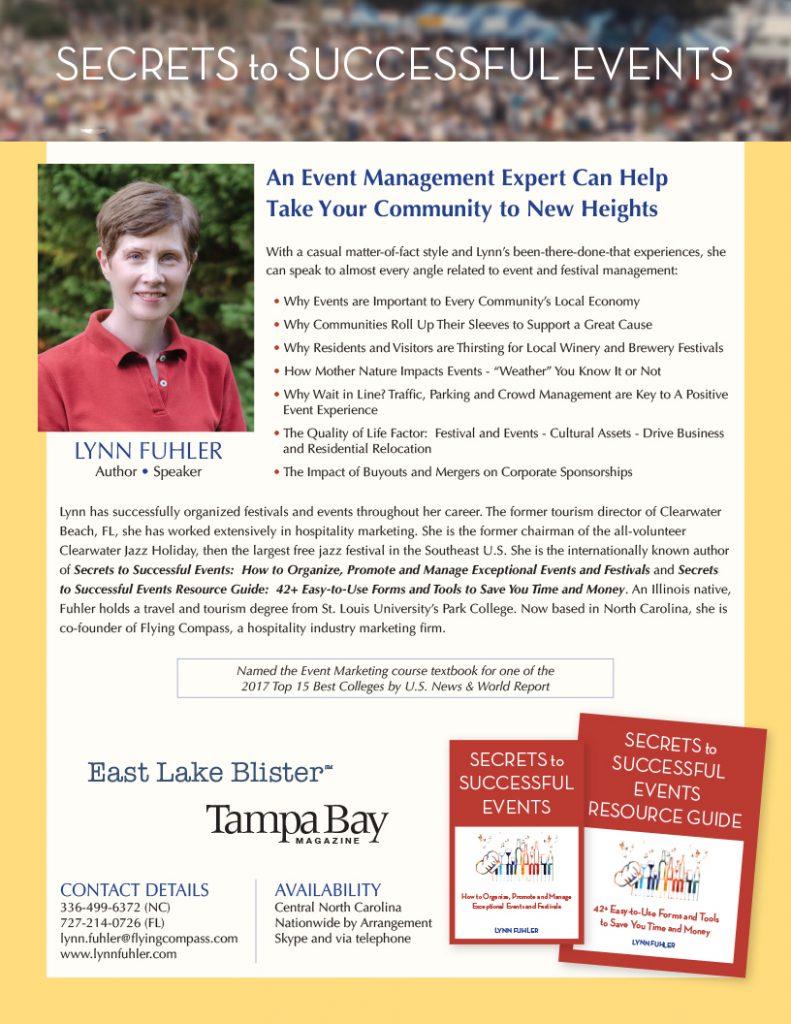Lynn Fuhler Media One Sheet