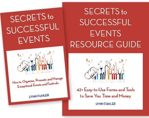 Secrets to Successful Event Book and Resource Guide