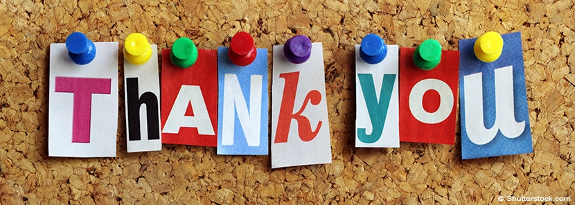 In-Kind Contributions Thank You