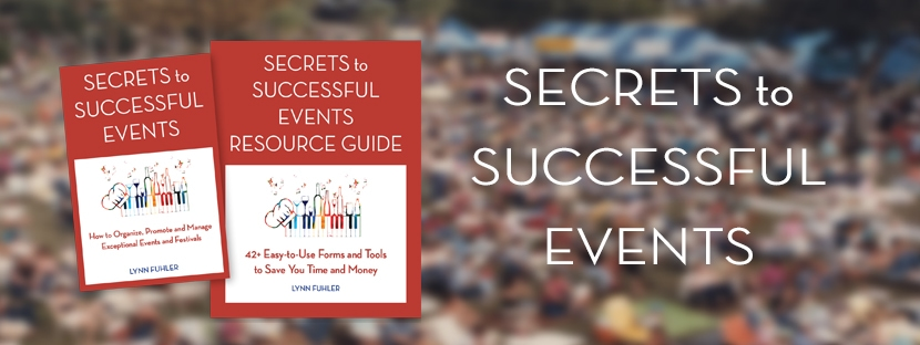 Blog Header Secrets to Successful Events Book and Guide